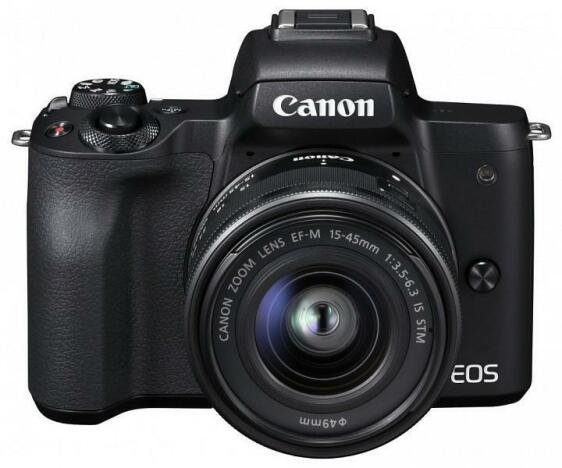 Camera foto Canon EOS M50 Black KIT