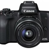 Camera foto Canon EOS M50 Black KIT EF-M15-45 IS STM Cod: 2680C070AA